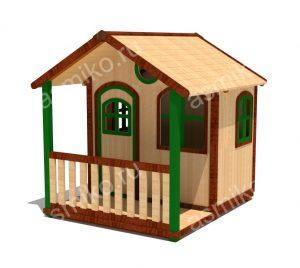 Домики для детской площадки
