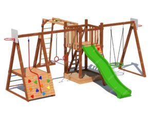 Детский деревянный городки